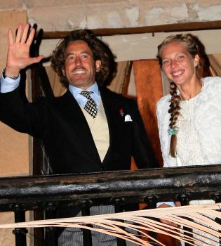 Álvaro de Marichalar se casa con Ekaterina Anikieva
