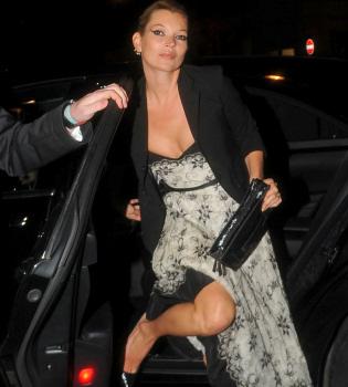 El posado menos glamuroso de Kate Moss