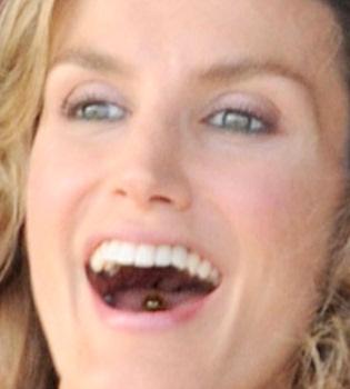La Princesa Letizia y su... ¿piercing en la lengua?