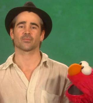 Colin Farrell sigue los pasos de Katy Perry y la lía en 'Barrio Sésamo'
