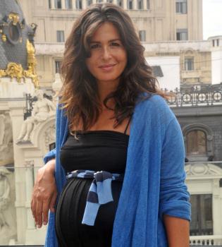 Nuria Roca ha sido madre de una niña