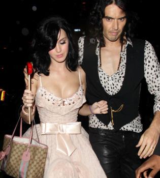 Katy Perry y Russell Brand se casan en pocos días