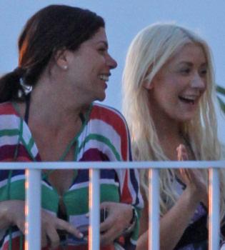 Los gustos lésbicos de Christina Aguilera, posible causa de su separación