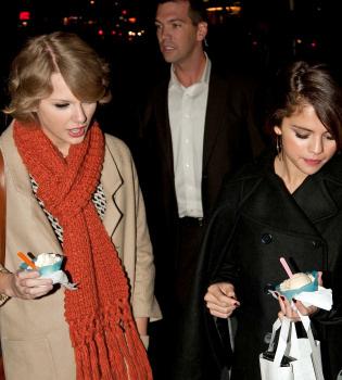 Taylor Swift y Selena Gomez, una cita de amigas en Londres