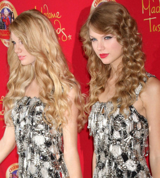 Taylor Swift destapa su figura de cera