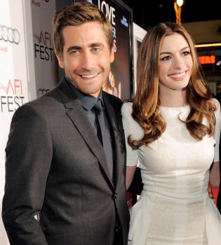 Jake Gyllenhaal y Anne Hathaway, adictos al amor