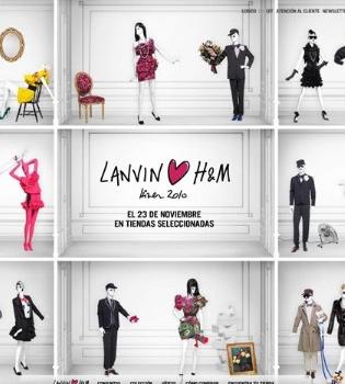 Lanvin ha creado una colección en exclusiva para H&M