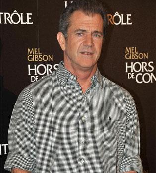 Decomisan dos pistolas y dos escopetas a Mel Gibson
