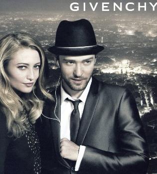 Justin Timberlake saca la versión femenina de su perfume de la mano de Givenchy