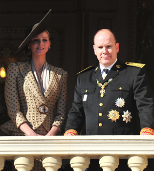 Primer acto oficial de Charlene Wittstick, futura Princesa de Mónaco