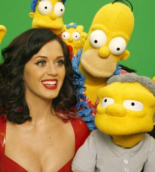 Katy Perry será la novia de Moe en 'Los Simpson'