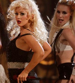 Christina Aguilera, barriguita sospechosa
