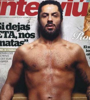 Rafael Amargo sorprende con un desnudo integral en Interviú