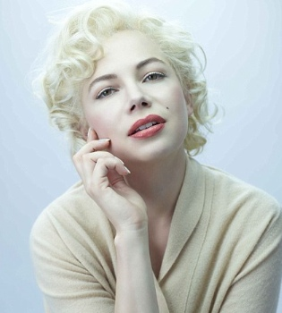 Michelle Williams hace renacer a Marilyn Monroe
