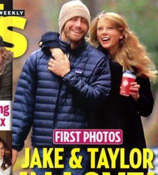 Jake Gyllenhaal y Taylor Swift pillados abrazados en plena calle