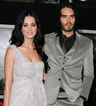 Katy Perry adoptará el apellido de su marido Russell Brand