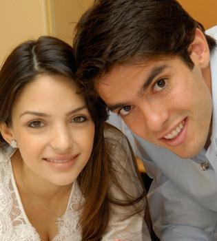 Kaká y Carolina Celico esperan su segundo hijo para abril