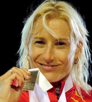 La atleta Marta Domínguez, detenida en una operación antidopaje