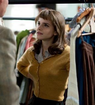 Emma Watson, asistente de vestuario de Marilyn Monroe