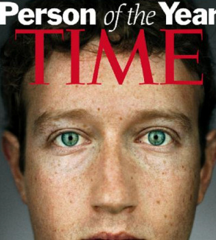 Mark Zuckerberg, elegido hombre del año por la revista 'Time'