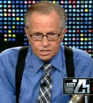 Larry King deja la televisión después de 25 años