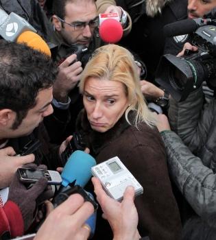 Marta Domínguez lucha por demostrar su inocencia ante el juez
