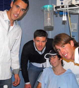 Sergio Ramos, Xabi Alonso y Pablo Prigioni, otros tres Reyes Magos
