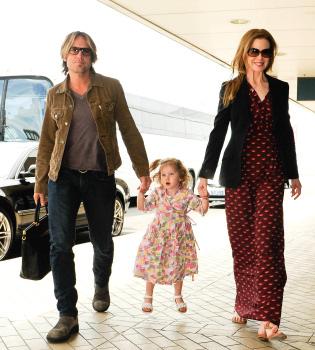 Nicole Kidman, Keith Urban y su hija, preparados para una Navidad inolvidable