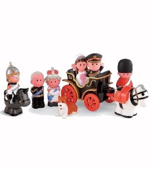 La boda de Kate Middleton y Guillermo de Inglaterra, un set de juguete