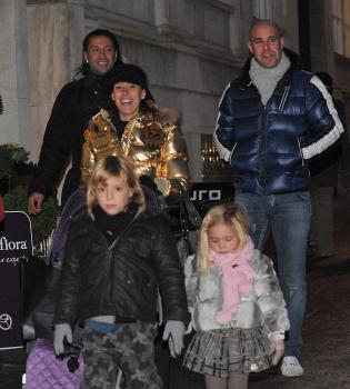 Pepe Reina y su familia disfrutan de la Navidad en Liverpool