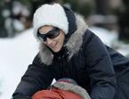 Sarah Jessica Parker y sus chicos, Navidad glamurosa bajo la nieve