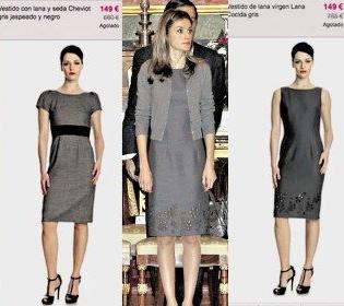Rebajas en los vestidos de la Princesa Letizia: hasta un 80%
