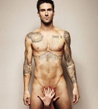 Adam Levine, líder de 'Maroon 5', desnudo en 'Cosmopolitan' por una buena causa
