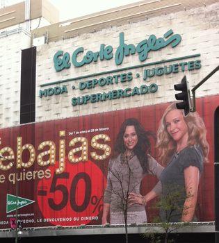 Natalia Verbeke y María Esteve, protagonistas de las Rebajas 2011