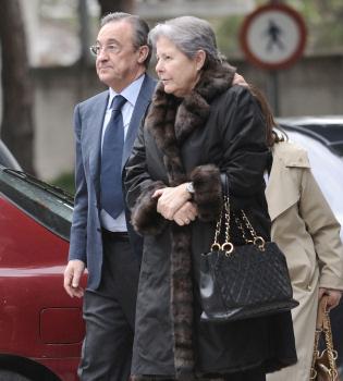 Fallece Mercedes Montero, la suegra de Florentino Pérez