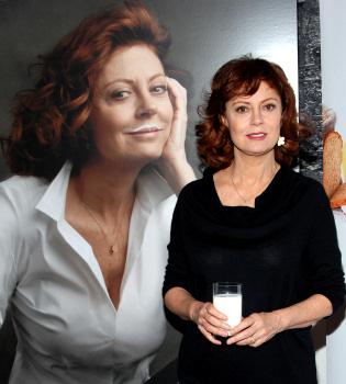 Susan Sarandon nos anima a consumir leche