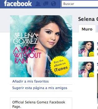 Un hacker cierra el Facebook y el Twitter de Selena Gómez