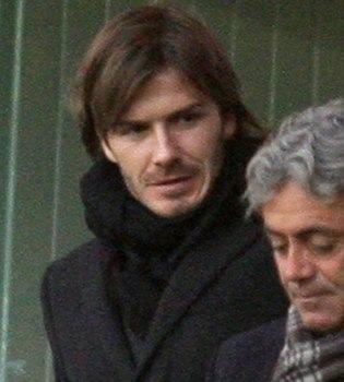 Nuevo 'look' de David Beckham: vuelve al pelo largo