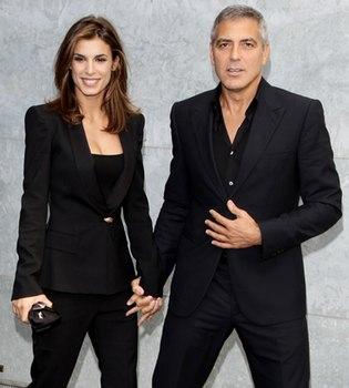 George Clooney no quiere casarse con Elisabetta Canalis