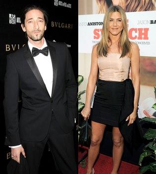 Jennifer Aniston y Adrien Brody, ¿algo más que amigos?