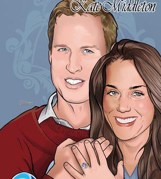 Kate Middleton y Guillermo de Inglaterra ya tienen cómic