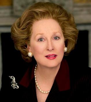 Meryl Streep será Margaret Thatcher en una película