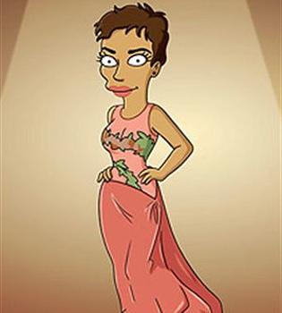 'Los Simpson' fichan a Halle Berry