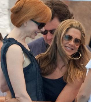 Jennifer Aniston envidia los abdominales de Nicole Kidman