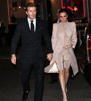 David y Victoria Beckham celebran su embarazo y su amor