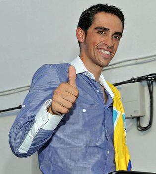 Archivado el expediente a Alberto Contador por su presunto dopaje