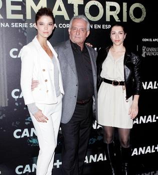Pepe Sancho, Alicia Borrachero y Aura Garrido protagonizan 'Crematorio'