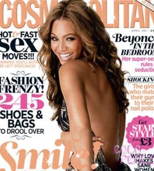 Beyoncé desvela en 'Cosmopolitan' sus puntos débiles