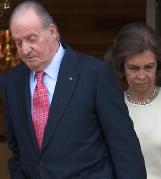 El Rey Juan Carlos, con un ojo morado en Zarzuela