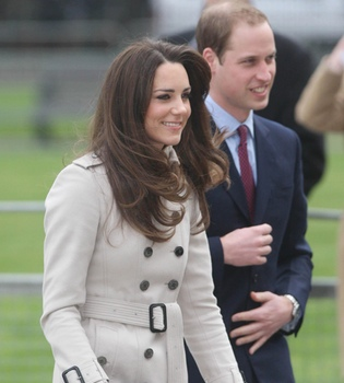 Guillermo de Inglaterra y Kate Middleton, divertida visita a Belfast